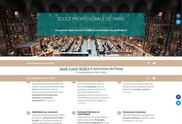 École Professorale de Paris