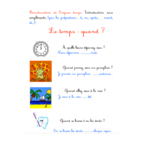 révisions français cp
