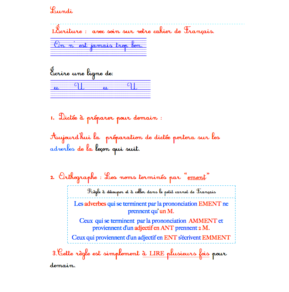 révisions français ce2