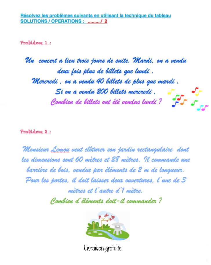 révisions mathématiques cm1