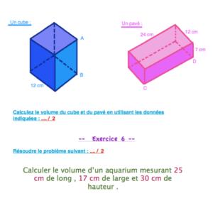 révisions mathématiques CM2