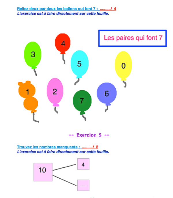 révisions mathématiques cp