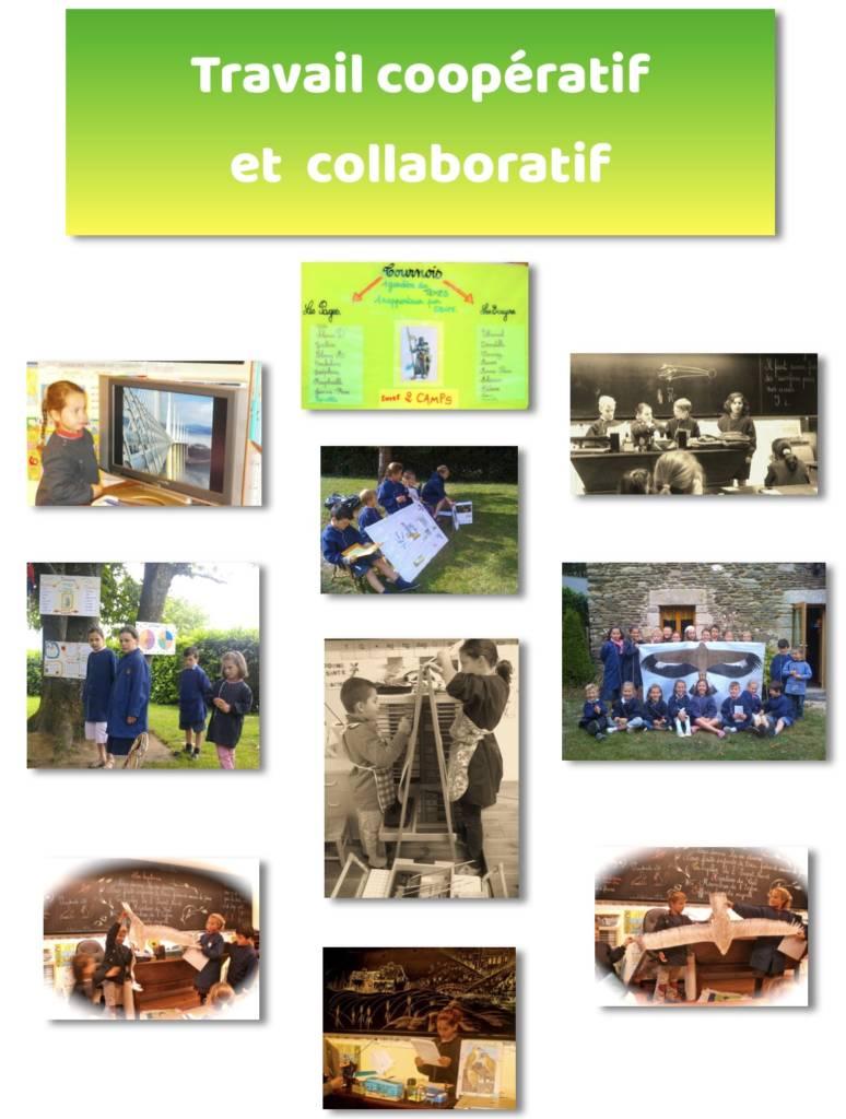 Travail Coopératif et collaboratif